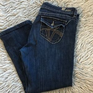 KUT ankle jeans high rise